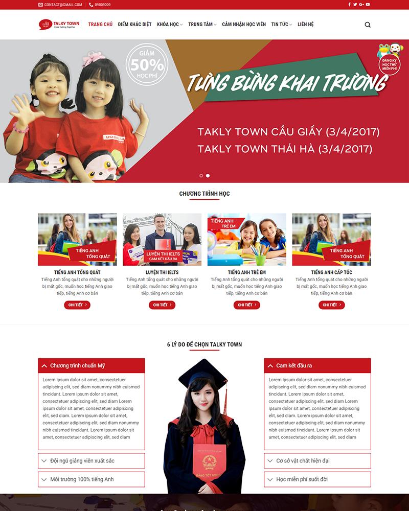 Thiết kế website elearning tại Quảng Ngãi